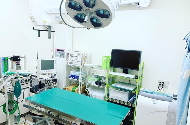 施設紹介:手術室・レントゲン室